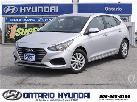2020 Hyundai Accent Preferred (Stk: 95431K) in Whitby - Image 1 of 18