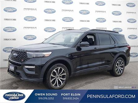 2020 Ford Explorer ST (Stk: 21EX18A) in Owen Sound - Image 1 of 24