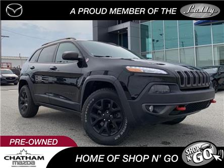 2015 Jeep Cherokee Trailhawk (Stk: UM2549) in Chatham - Image 1 of 22