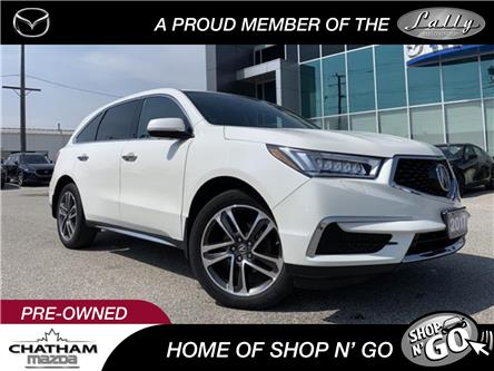2017 Acura MDX Navigation Package (Stk: UM2585) in Chatham - Image 1 of 26