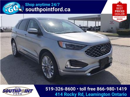 2021 Ford Edge Titanium (Stk: SEG6893) in Leamington - Image 1 of 25