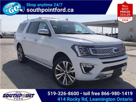 2021 Ford Expedition Max Platinum (Stk: SED6929) in Leamington - Image 1 of 26
