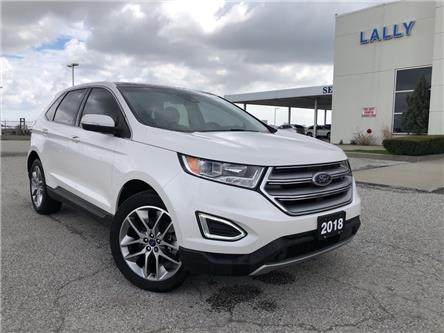 2018 Ford Edge Titanium (Stk: S6907A) in Leamington - Image 1 of 26