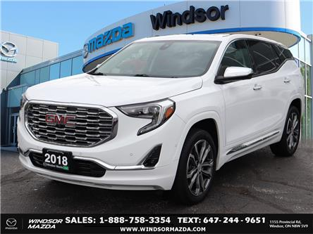 2018 GMC Terrain Denali (Stk: TR76239) in Windsor - Image 1 of 26
