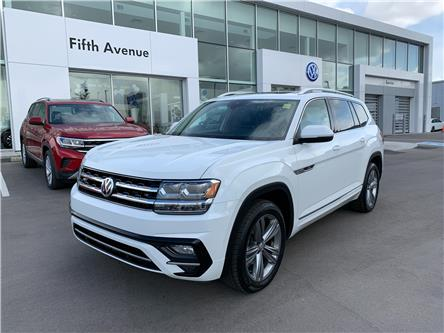 2018 Volkswagen Atlas 3.6 FSI Execline (Stk: 21186A) in Calgary - Image 1 of 21