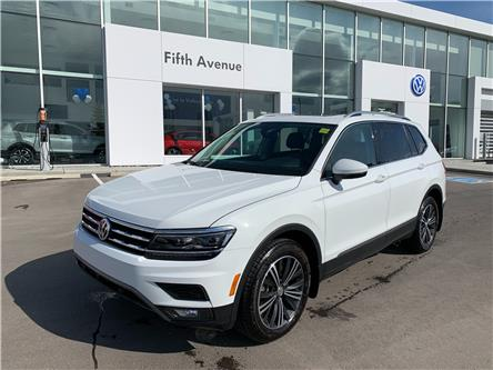 2018 Volkswagen Tiguan Highline (Stk: 3613) in Calgary - Image 1 of 20