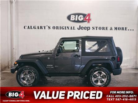 2018 Jeep Wrangler JK Sport (Stk: 21T141A) in Calgary - Image 1 of 13