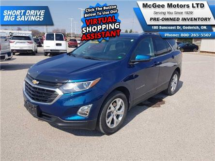 2019 Chevrolet Equinox LT (Stk: 187956) in Goderich - Image 1 of 28