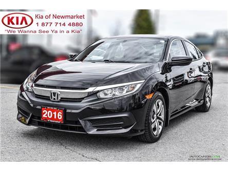 2016 Honda Civic LX (Stk: P1393) in Newmarket - Image 1 of 17