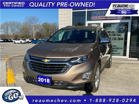 2018 Chevrolet Equinox Premier (Stk: 21-0424A) in LaSalle - Image 1 of 22