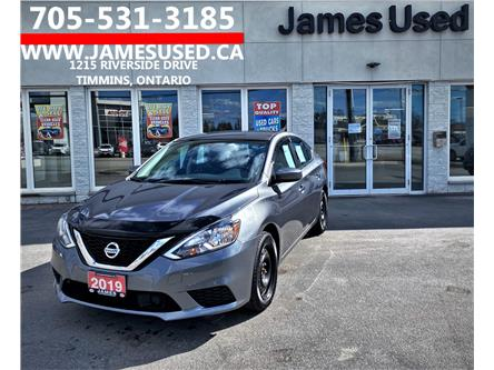 2019 Nissan Sentra 1.8 SV (Stk: N21183B) in Timmins - Image 1 of 14