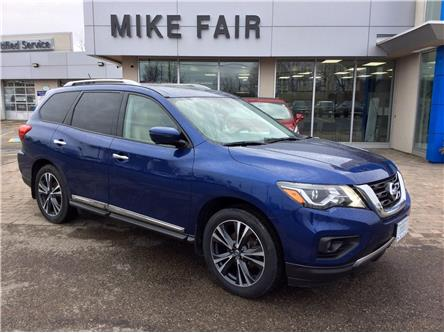 2018 Nissan Pathfinder  (Stk: 21169A) in Smiths Falls - Image 1 of 16