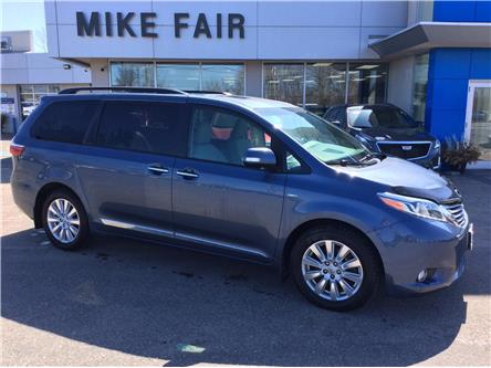 2017 Toyota Sienna  (Stk: 21185A) in Smiths Falls - Image 1 of 16