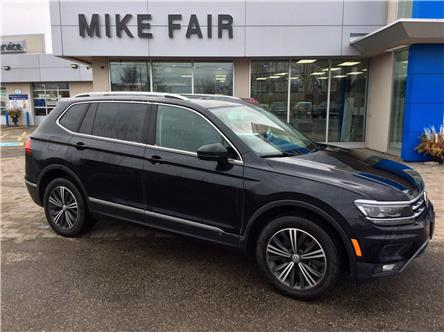2018 Volkswagen Tiguan Highline (Stk: P4334) in Smiths Falls - Image 1 of 16