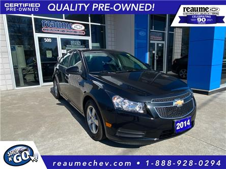 2014 Chevrolet Cruze 2LT (Stk: 21-0318A) in LaSalle - Image 1 of 23