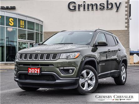 2021 Jeep Compass North (Stk: U5124) in Grimsby - Image 1 of 29
