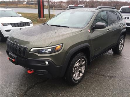 2021 Jeep Cherokee Trailhawk (Stk: 6716) in Sudbury - Image 1 of 19