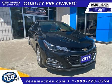 2017 Chevrolet Cruze Premier Auto (Stk: L-4533) in LaSalle - Image 1 of 25