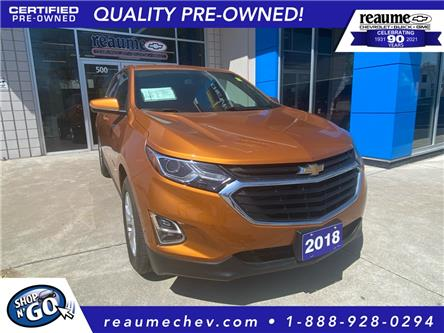 2018 Chevrolet Equinox LT (Stk: L-4529) in LaSalle - Image 1 of 23
