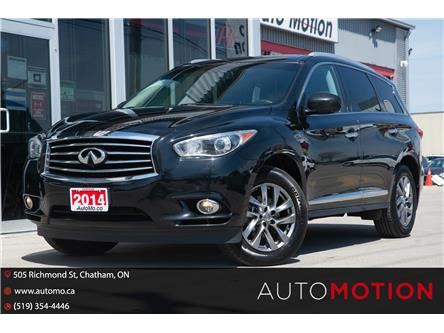 2014 Infiniti QX60 Base (Stk: 21532) in Chatham - Image 1 of 26