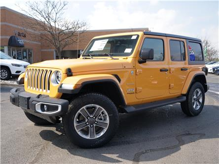 2021 Jeep Wrangler Unlimited Sahara (Stk: 21277) in Mississauga - Image 1 of 6