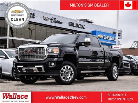 2019 GMC Sierra 2500HD 4WD Crew Denali, 6.6 DIESEL,  NAV,  COOLED SEATS (Stk: 212045A) in Milton - Image 1 of 22