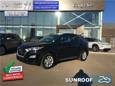 2021 Hyundai Tucson 2.0L Preferred AWD w/Sun and Leather (Stk: 1TU3509) in Red Deer - Image 1 of 10