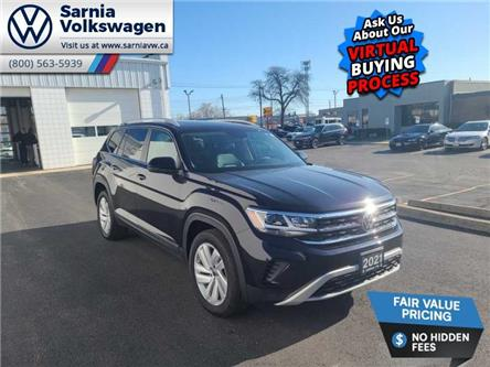 2021 Volkswagen Atlas 3.6 FSI Highline (Stk: V2193) in Sarnia - Image 1 of 23