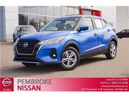 2021 Nissan Kicks S (Stk: 21085) in Pembroke - Image 1 of 28