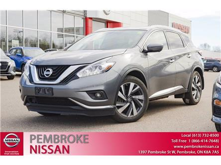 2018 Nissan Murano Platinum (Stk: 21087A) in Pembroke - Image 1 of 30