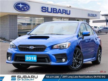 2018 Subaru WRX Sport-tech (Stk: US1227) in Sudbury - Image 1 of 23