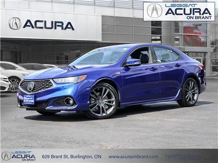 2018 Acura TLX Tech A-Spec (Stk: 4468) in Burlington - Image 1 of 30