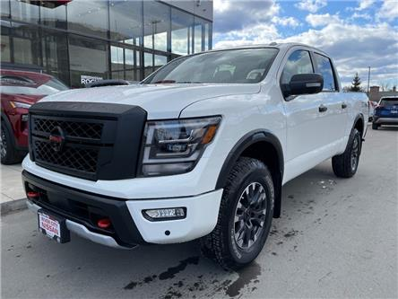 2021 Nissan Titan PRO-4X (Stk: T21155) in Kamloops - Image 1 of 23