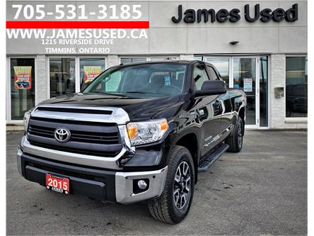 2015 Toyota Tundra SR 5.7L V8 (Stk: N21234A) in Timmins - Image 1 of 14