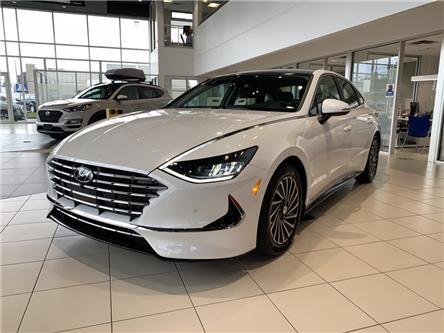 2021 Hyundai Sonata Hybrid Ultimate (Stk: S20137) in Ottawa - Image 1 of 19