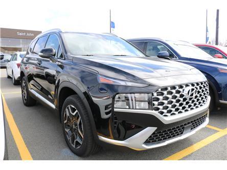 2021 Hyundai Santa Fe HEV Preferred w/Trend Package (Stk: 16651) in Saint John - Image 1 of 15