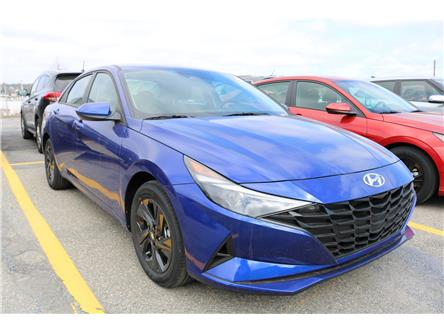 2021 Hyundai Elantra HEV Preferred (Stk: 12639) in Saint John - Image 1 of 6