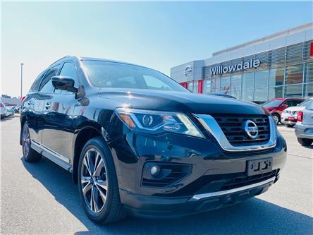 2017 Nissan Pathfinder Platinum (Stk: C35790) in Thornhill - Image 1 of 24
