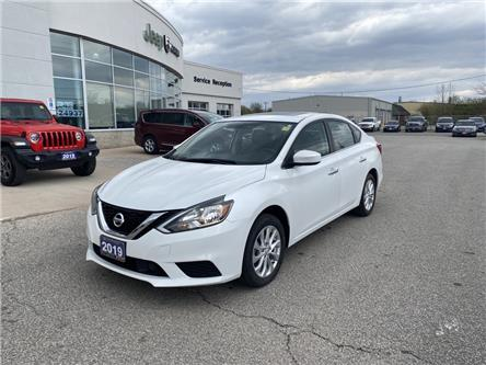 2019 Nissan Sentra 1.8 S (Stk: U04653) in Chatham - Image 1 of 17
