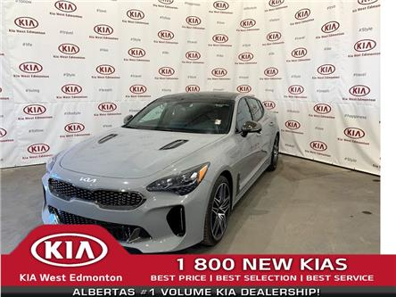 2022 Kia Stinger GT Elite w/Red Interior (Stk: 22935) in Edmonton - Image 1 of 32