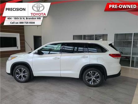 2017 Toyota Highlander LE (Stk: 211951) in Brandon - Image 1 of 27