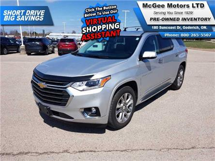 2019 Chevrolet Traverse Premier (Stk: 158117) in Goderich - Image 1 of 30