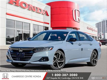 2021 Honda Accord Sport 2.0T (Stk: 21713) in Cambridge - Image 1 of 24