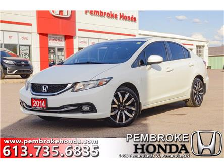 2014 Honda Civic Touring (Stk: 21100A) in Pembroke - Image 1 of 13