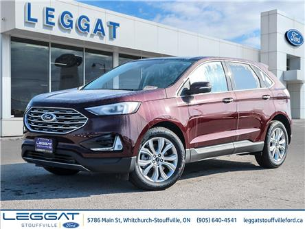 2021 Ford Edge Titanium (Stk: EG18714) in Stouffville - Image 1 of 29