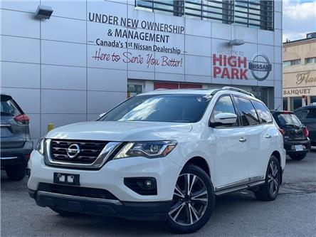 2018 Nissan Pathfinder Platinum (Stk: U1919) in Toronto - Image 1 of 25