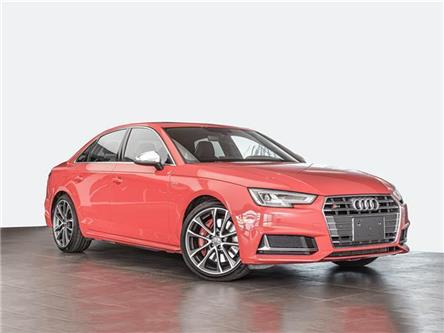 2018 Audi S4 3.0T Progressiv (Stk: PA718) in Ottawa - Image 1 of 19