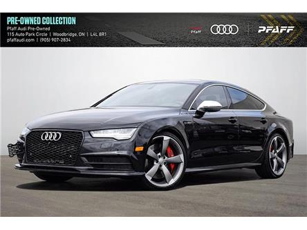 2017 Audi S7 4.0T (Stk: C8283) in Woodbridge - Image 1 of 22