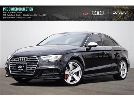 2017 Audi S3 2.0T Technik (Stk: C8301) in Woodbridge - Image 1 of 22