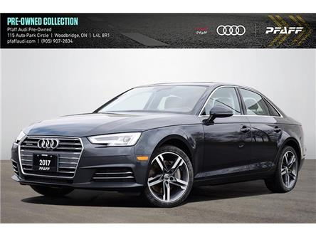 2017 Audi A4 2.0T Technik (Stk: T19305A) in Woodbridge - Image 1 of 21